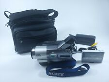 Sony Handycam CCD-TR818 Hi8 Analog Camcorder - Record Transfer Play Video 8 Tape