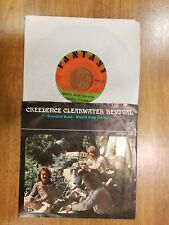 """CREEDENCE CLEARWATER REVIVAL """"Travelin' Band""""  Fantasy 637 Who'll stop the Rain"""