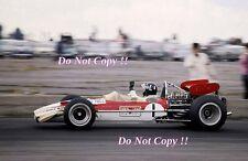 Graham Hill Gold Leaf Team Lotus 49B British Grand Prix 1969 Photograph 4