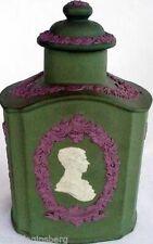 Princess Diana Prince Charles Wedding Wedgwood Tea Caddy 3Color Jasper (2083)
