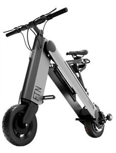 10 inch 36V Foldable Electric Bicycle Portable Scooter Adult Smart Folding Bike