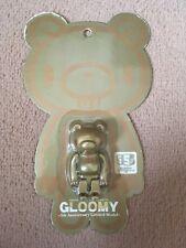 Lugubre Bear 5th ANNIVERSARIO ORO Kubrick BEARBRICK Medicom giocattolo