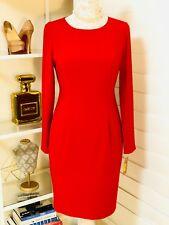 NWT Women's Cremieux Dress, Red, Sz 6