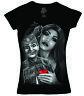David Gonzales Art DGA I'm Your Puppet Cholo Gangster Tattoos V Neck Tee Shirt