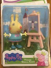 Peppa Pig New In Package Princess Rebecca Rabbit Figurine