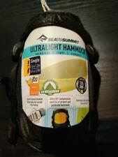 Sea To Summit Set Ultralight Unisex Adventure Gear Hammock - Grey - Single