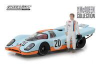 GREENLIGHT 1/43 HOLLYWOOD GULF PORSCHE 917K STEVE McQUEEN NEW