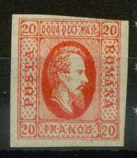 Roumanie 1865 SG 48 Neuf * 80%