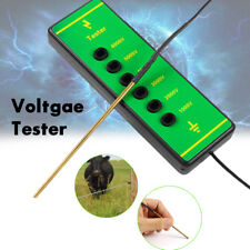Electric Fence Voltage Tester Fencing Current Testing Energiser with Probe