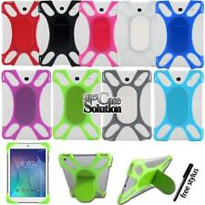 "Shockproof Silicone Stand Cover Case For 7"" 8"" Alcatel OneTouch Tablet"