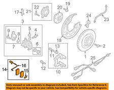 AUDI OEM 12-16 A6 Brake-Rear Pads 4G0698451H