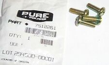 POLARIS PURE OEM NOS ATV BOLT PACK OF FOUR 4 7512261