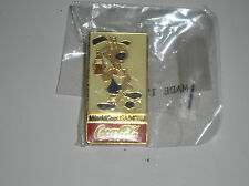 Vintage Pinback Pin Coca-Cola Coke 1994 World Cup Soccer Games
