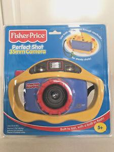 Vintage Fisher Price Perfect Shot Kids Camera 35mm Flash 2000 77856