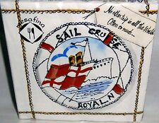 "Nautical Beverage Napkins  20 Ct  10"" x 10"" 3-Ply No Other Trip all the World..."