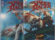 SPEED RACER CHRONICLES OF THE RACER #3 SET OF A & B COVERS (NM) IDW COMICS