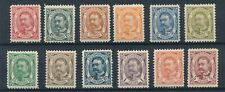 [348536] Luxembourg 1906-1915 good set of stamps very fine Mh Value 250$