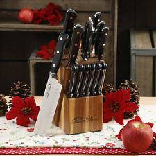 Cutlery Set The Pioneer Woman Cowboy Rustic Stainless 14-Piece Kitchen Knife New