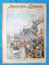 La Domenica del Corriere 3 aprile 1921 Trieste - Dusseldorf - Cascate Niagara