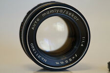 New ListingExcellent Mamiya Sekor Sx 55mm F1.4 Lens M42 Great Bokeh Super clean w/filter