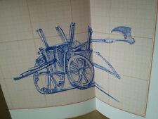 Daniel NADAUD/Tétralogie laborieuse/Expo 1999, 1/30 ex avec dessin orginal signé