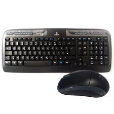 Logitech MK330 Wireless Combo Maus-Tastatur-Set 10 programmierbare Tasten