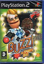 BUZZ THE SPORT QUIZ - PS2 VERSIONE ITALIANA