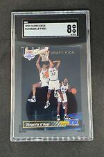 Shaquille O'Neal 1992-93 Upper Deck Rookie Card #1 Draft Pick SGC 8 Shaq