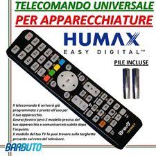 TELECOMANDO UNIVERSALE PER APPARECCHI HUMAX PER MODELLO 6800S