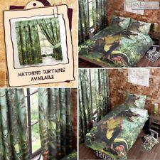 Jurassic Dinosaur T-Rex Duvet Quilt Cover Bedding Set & Pillowcases in 2 Sizes