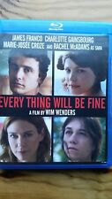 Every Thing Will Be Fine (Blu-ray Disc, 2016) Former Rental Very Good Condition