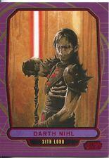 Star Wars Galactic Files Red Parallel #227 Darth Nihl