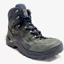 LOWA Renegade GTX Mid Boots Hiking Blue Grey Men's 10
