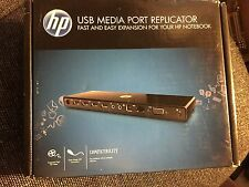 HP USB Media Port Replicator/Docking Station with Audio Out, VY843AA#ABA,