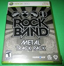 Rock Band: Metal Track Pack Microsoft Xbox 360 *New-Sealed-Free Shipping!