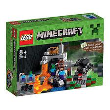 LEGO Minecraft 21113 - Die Höhle NEU/NEW OVP/misb Steve, Zombie, Spinne/Spider
