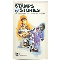 United States Stamps and Their Stories PB 1st Edition History Told In Stamps