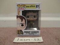 FUNKO POP! THE OFFICE DWIGHT SCHRUTE #871 VINYL FIGURE BRAND NEW SHIPS NOW