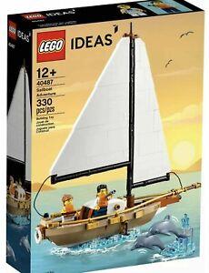 LEGO IDEAS 40487 AVVENTURA BARCA A VELA LIMITED EDITION NUOVO VIP