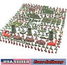 Lot of 290 Strategy Soldiers Mini Army Men Action Figures Toy Soldiers Tank