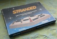 Stranded -Spear's Games 1981. A Game Of Tactics & Strategy. 100% Complete