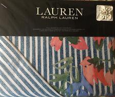 RALPH LAUREN Maggie FULL/QUEEN DUVET COVER Shams Set Cottage Shabby Floral Chic