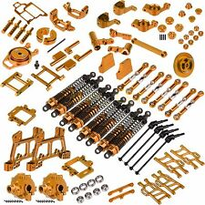 Upgrade Parts Package For HSP 1/10 RC 4 WD Nitro Power Off-Road Truck 94108 Gold