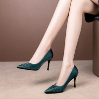Ladies High Heels Pumps Pointed Toe Party Women Stiletto Dress Shoes Sexy Sandal