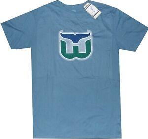 Hartford Whalers Throwback Vintage Retro Sport Slim Fit T Shirt  Clearance! $30
