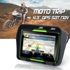 "MOTORCYCLE GPS ADV ATV BIKE NAIVIGATION 4.3"" 8GB 256M WATERPROOF SAT NAV US MAPS"