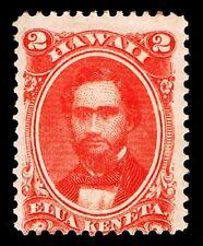 HAWAII #31 .02c HAWAIIAN REGULAR ISSUE OF 1864 - F/VF - $65.00 (ESP#6768)