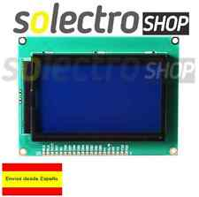 Pantalla LCD 12864 Display 128x64 dots grafico blue ARDUINO Graphic P0015