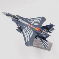 F-15 Eagle Fighter 75th Anniversary Edition 1/100 Diecast Plane Model Aircraft