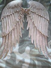 Handmade Angel Wings Metal Pink